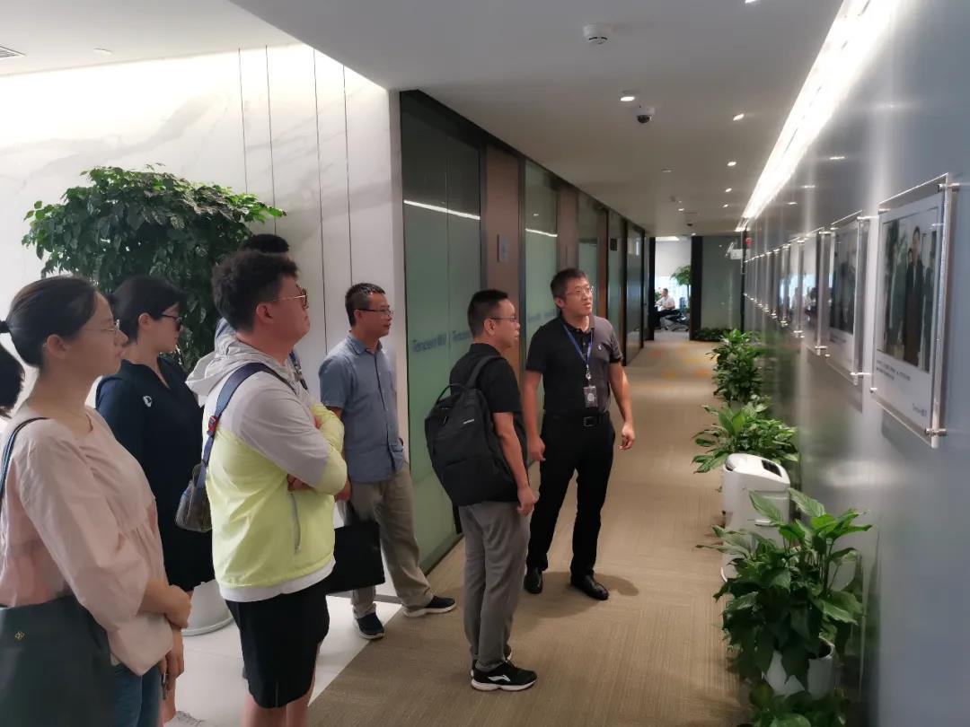 湖南文旅数据中心受邀赴腾讯云计算长沙公司探讨交流