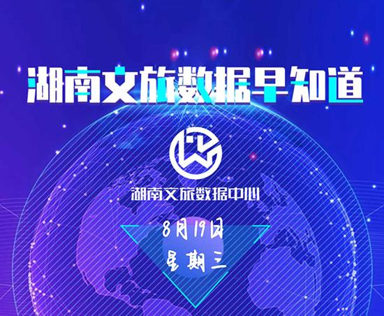 湖南文旅数据中心:湖南文旅数据早知道(8月19日)