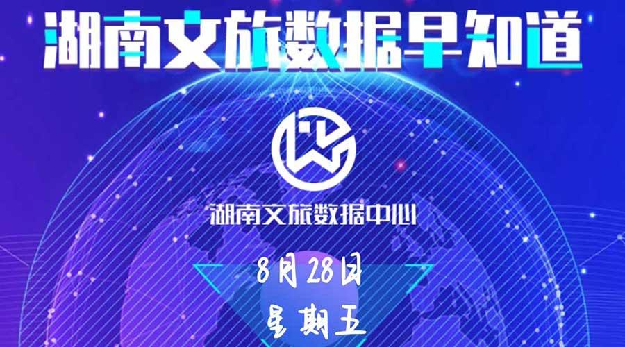 湖南文旅数据中心:湖南文旅数据早知道(8月28日)