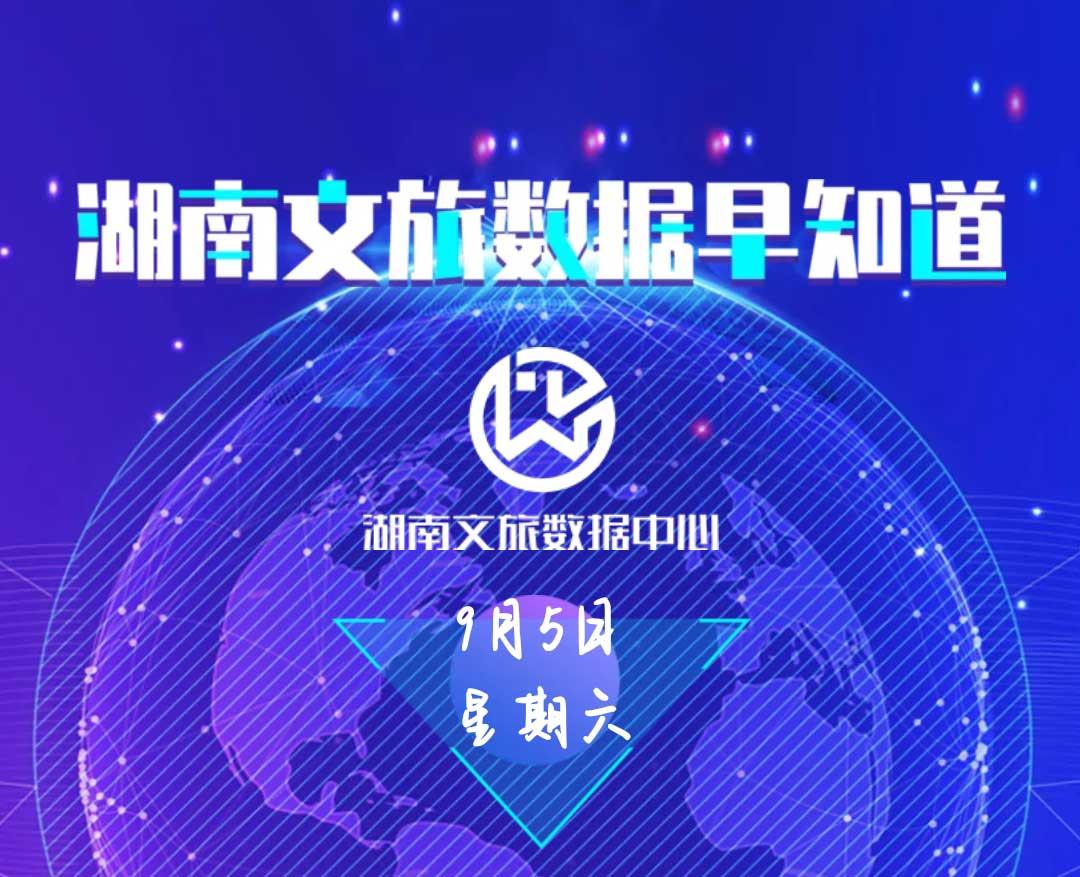 湖南文旅数据中心:湖南文旅数据早知道(9月5日)