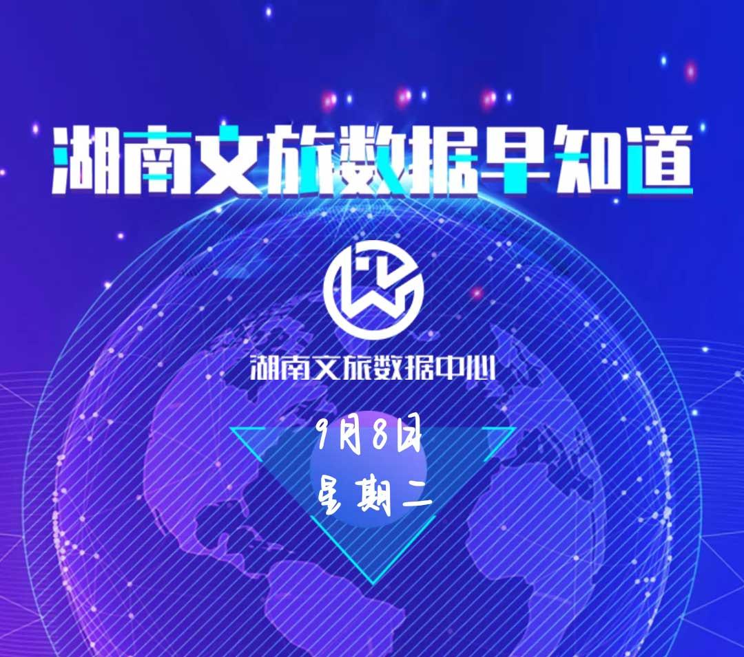 湖南文旅数据中心:湖南文旅数据早知道(9月8日)