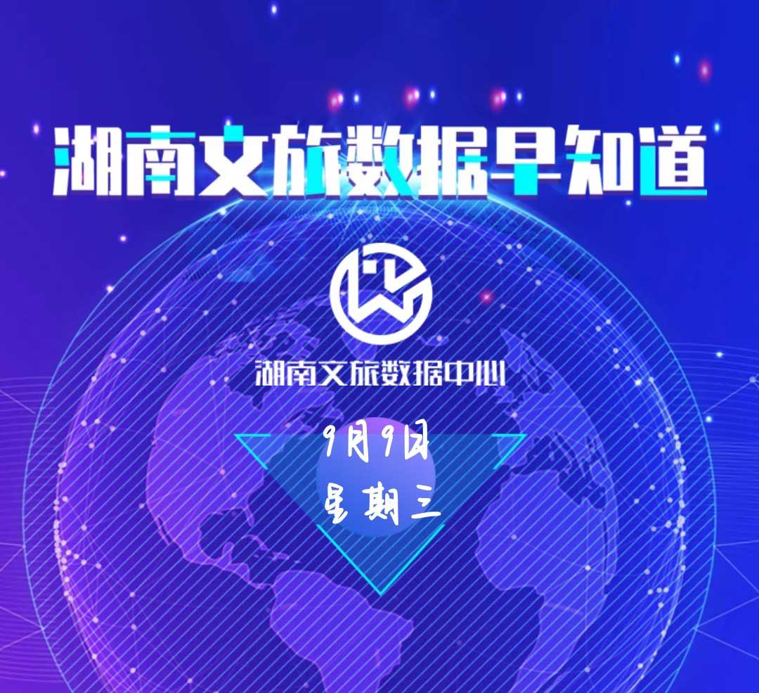 湖南文旅数据中心:湖南文旅数据早知道(9月9日)