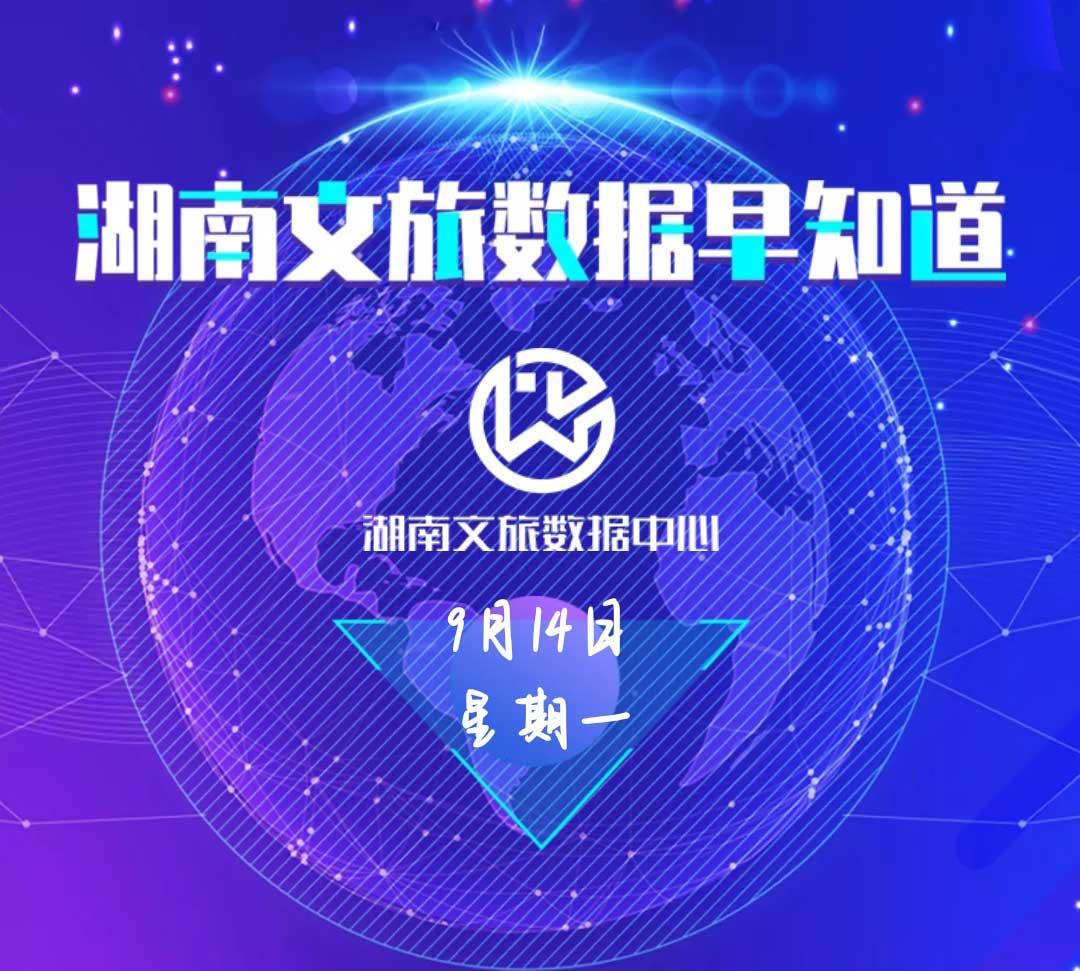 湖南文旅数据中心:湖南文旅数据早知道(9月14日)